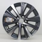 EL1000009 17 inch originele lichtmetalen Lexus velg 7.50X17 5X114.3 ET40.0 NB60.1 Antraciet gepolijst