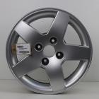 EL1000027 15 inch originele lichtmetalen Peugeot 208 velg 6.00X15 4X108 ET23.0 NB65.1 Zilver