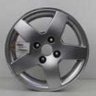 EL1000029 15 inch originele lichtmetalen Peugeot 208 velg 6.00X15 4X108 ET23.0 NB65.1 Zilver
