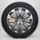 OSC1000175 Originele 16 inch lichtmetalen Mercedes-Benz E-klasse velgen  (Compleet set met banden) 8.00X16 5X112 ET46.0 NB66.6 Antraciet