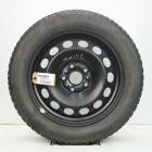 OSC1000319 Originele 16 inch stalen Audi/Volkswagen velgen (Compleet set met banden) 6.00X16 5X112 ET48.0 NB57.1 Zwart