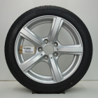 OSC1000684 Originele 17 inch lichtmetalen BMW Z4 styling 290 velgen (Compleet set met banden) 8.00X17 5X120 ET29.0 NB72.6 Zilver