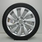 OSC1000743 Originele 17 inch lichtmetalen BMW 1-serie styling 381 velgen (Compleet set met banden) 7.50X17 5X120 ET43.0 NB72.6 Zilver